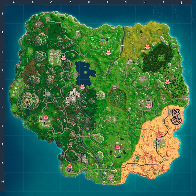 Карта тортов