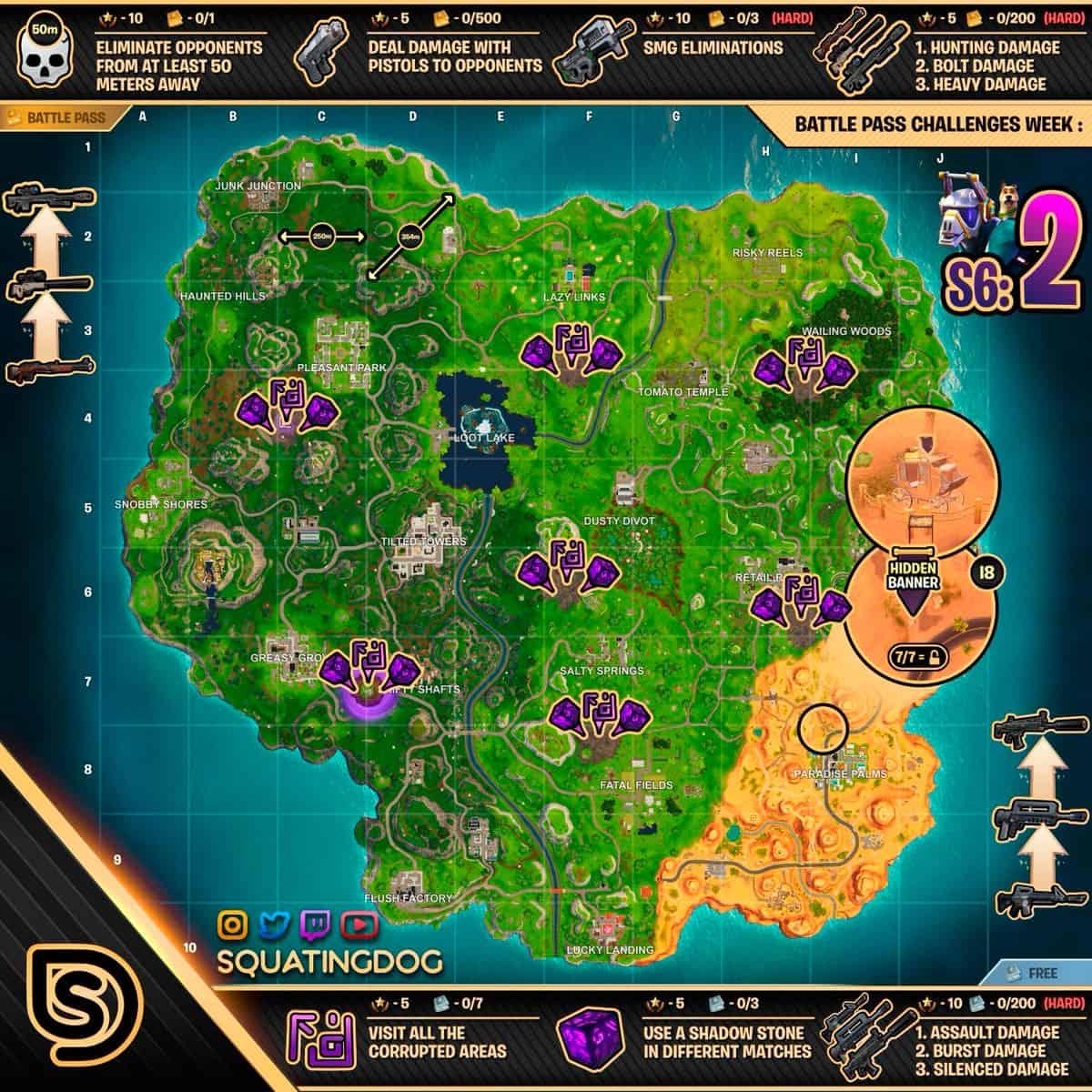Чит Карта 2 Недели