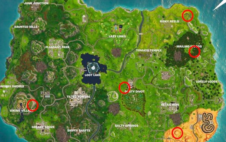 Карта тиров