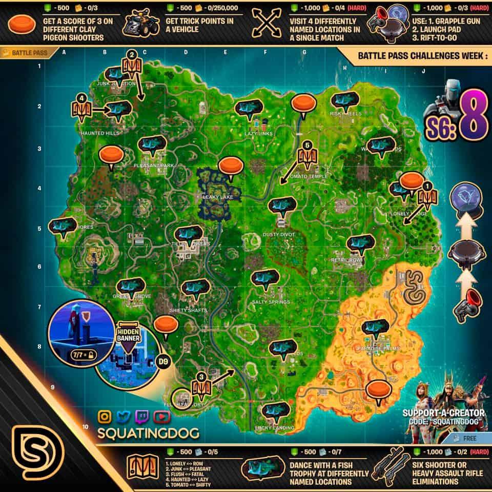 Чит Карта 8