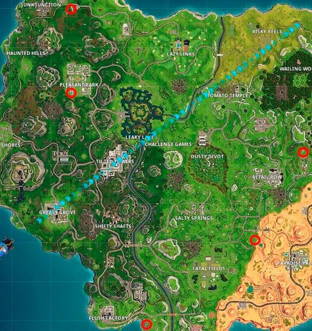 Карта Клоуны