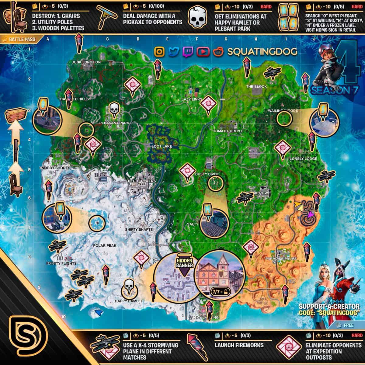 Чит Карта 4