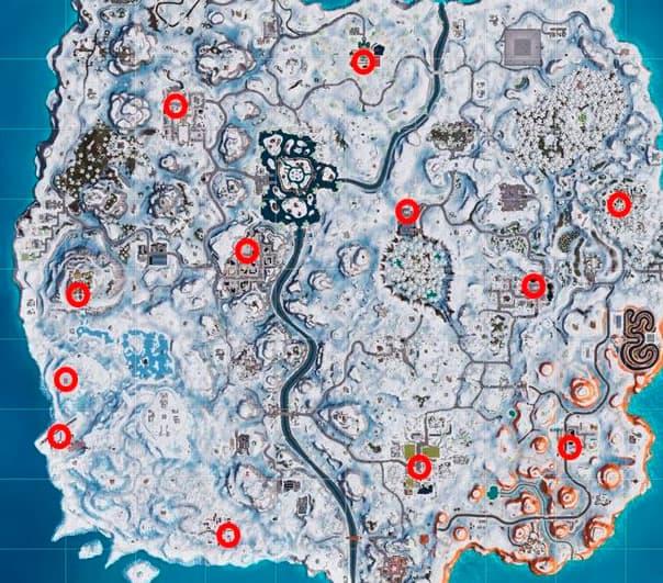Карта Елок