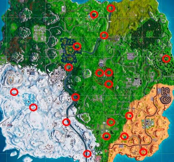 Карта Гнезд
