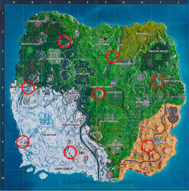 Карта Самолетов