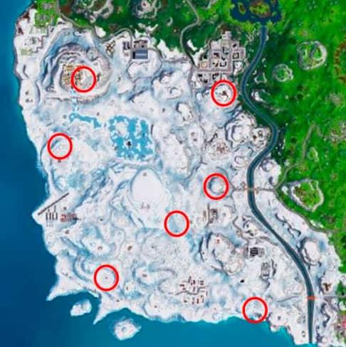 Карта Гномов